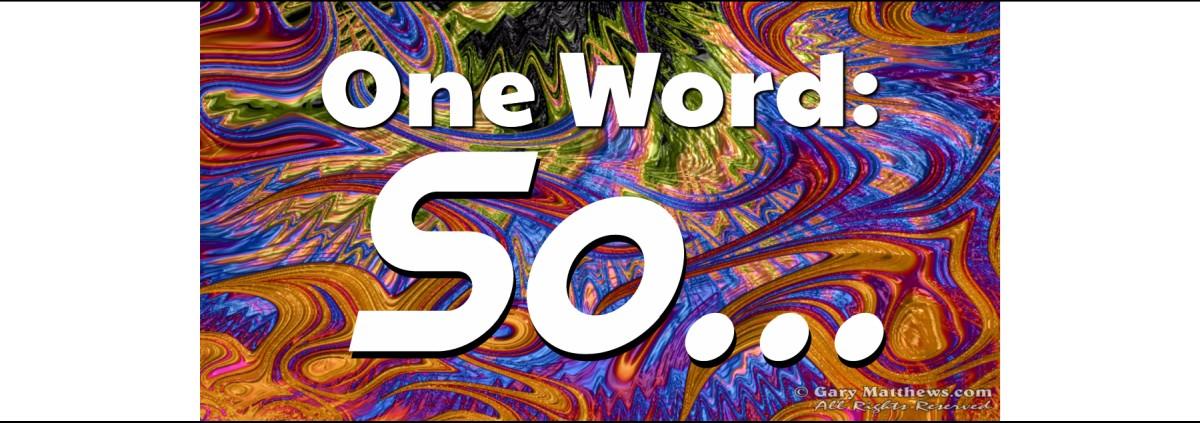 OneWord-So